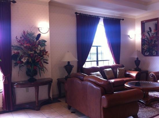 EconoLodge Inn & Suites:                   lobby