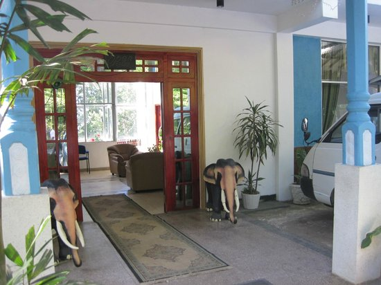 White Elephant Hotel:                   Hotel Entrance