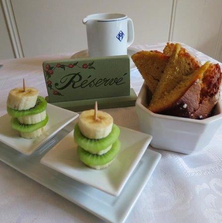 La Charlotte Aix en Provence:                   Gerards creative breakfasts