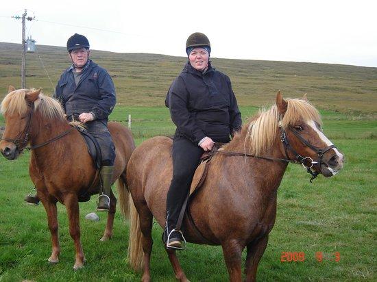 Sireksstadir Farm Holiday: On a horseback