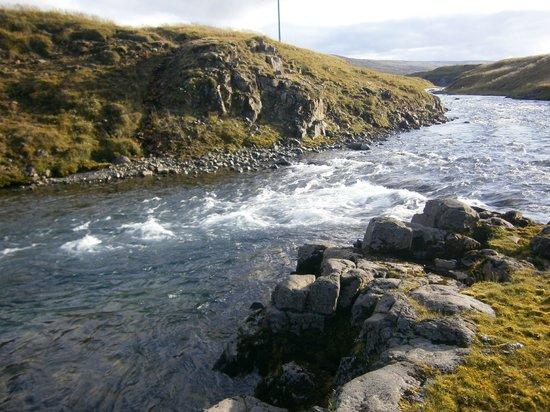 Sireksstadir Farm Holiday: The river Sunnudalsá