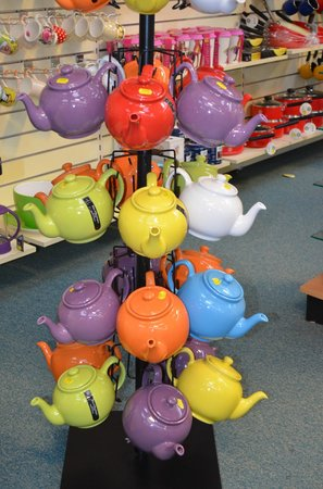 Otter Garden Centres, Ottery St Mary:                                     Pots for your tea
