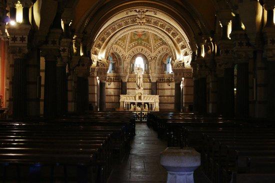 Basilique Notre Dame de Fourviere: Inside the Basilica.