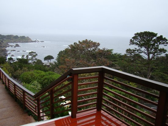 Tickle Pink Inn:                   View from the main deck