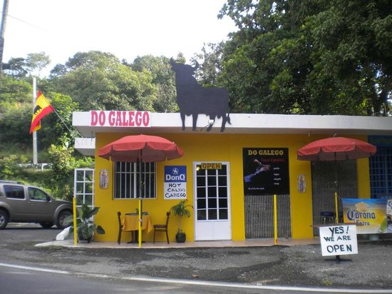 Do Galego :                   Front View of Restaurant