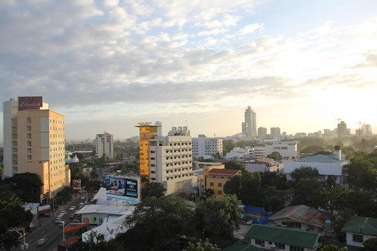Red Planet Cebu:                   View from the rooftop of the hotel