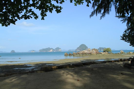 Phulay Bay, A Ritz-Carlton Reserve:                   View from near the poolside
