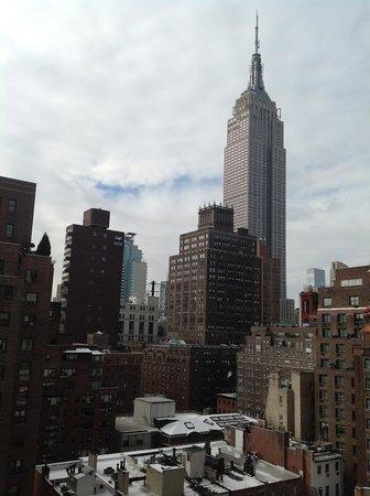 IBEROSTAR 70 Park Avenue Hotel:                   Empire state view