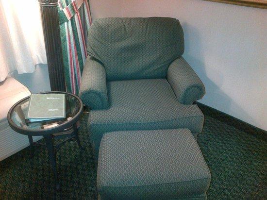Hilton Garden Inn Toronto/Mississauga : Sitting area