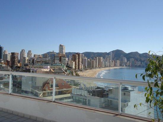Hotel Centro Mar:                   vistas desde la azotea del hotel