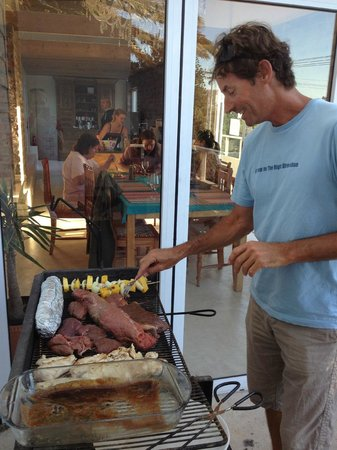 Eco Wave Lodge:                   Braai