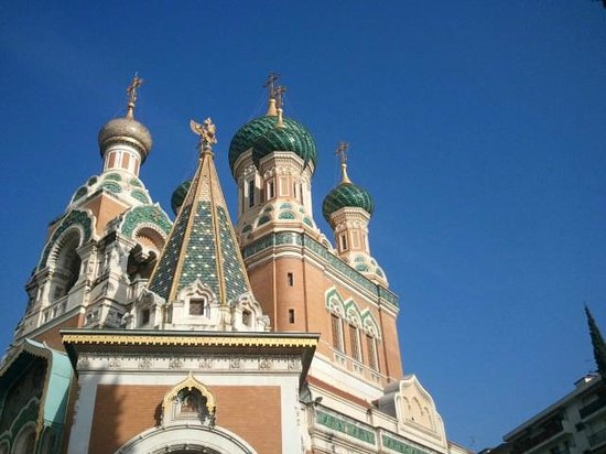 Riviera Discovery Private Tours: russian cathedrale Nice