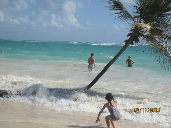 Punta Cana Princess All Suites Resort & Spa:                   beautiful sandy beach