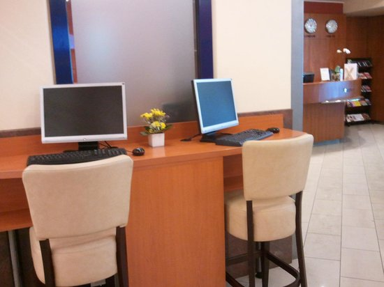 Archibald City: Zona internet para clientes