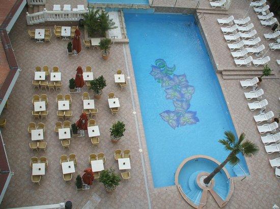 Bahia del Sol Hotel:                   outside Pool area