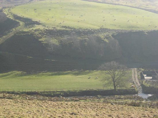 County Tyrone, UK:                   Old Settlements, North Sperrins.