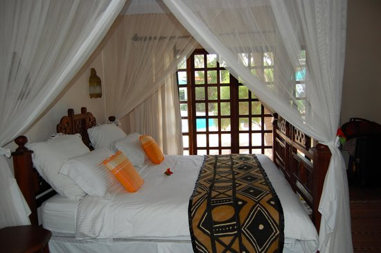 Diani Blue:                   The bedroom