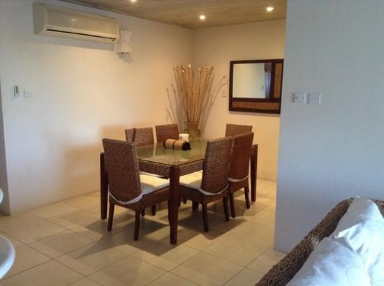 Mullins Heights Villas:                                     dining room