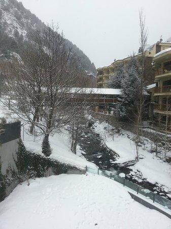 Hotel Palome:                   vistas suite