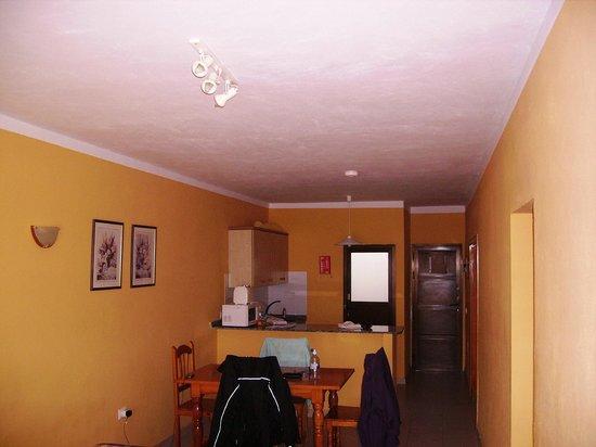 Aparthotel Lanzarote Paradise:                   Looking down main room to Front Door