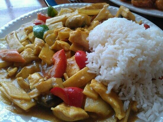 Hong Kong Express Chicken Curry