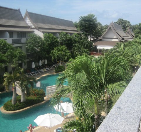 Centara Kata Resort Phuket:                   View from balcony of room 4306