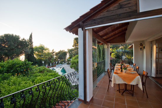 Villa Le Magnolie: sala cena