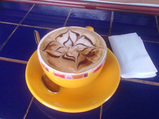 Daily Grind :                                     Best Vanilla Cappuccino!