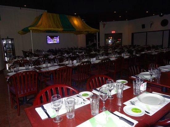 Restaurant Le Milsa : back area- great for larger groups