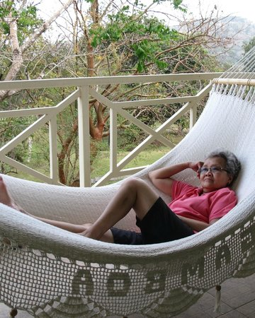 Gamboa Rainforest Resort:                   A hammock in every room's veranda