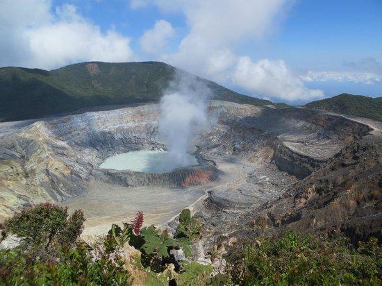 Main crater Poas Volcano