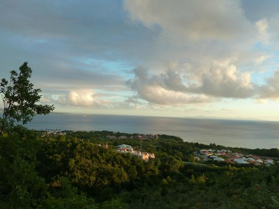 Residence Ilot Bleu:                   vue de la terrasse                 