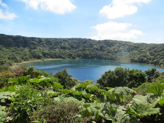 Botos Laguna at Poas Volcano National Park