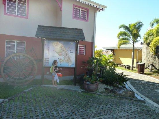 Residence Ilot Bleu:                   Entrée de la résidence