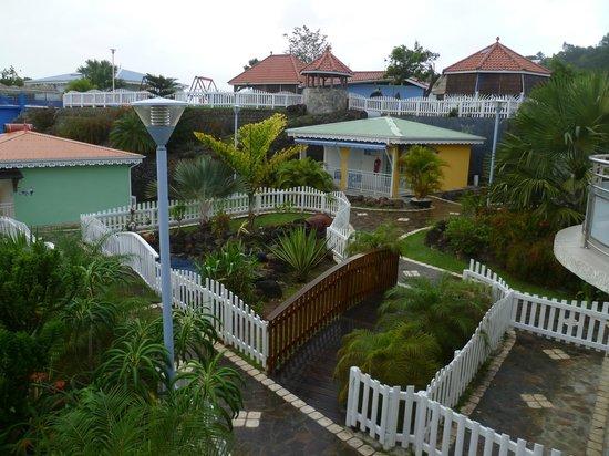 Residence Ilot Bleu:                   vue sur la résidence