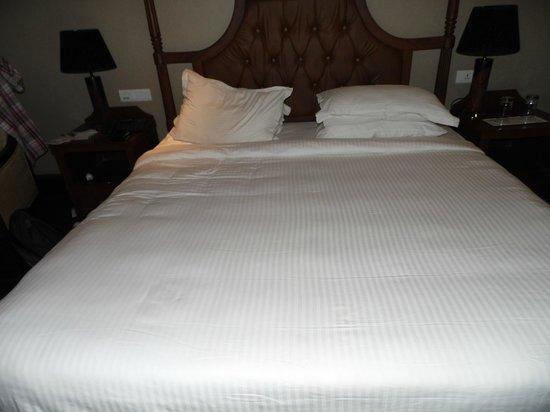 Godwin Hotel:                   comfy bed