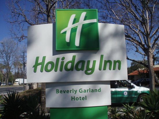 The Garland:                   Hotel signage