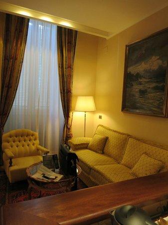 Hotel Nazionale:                   Sitting area