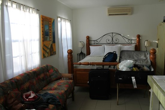 Antigua's Yepton Estate Cottages :                   Other view of our studio cottage
