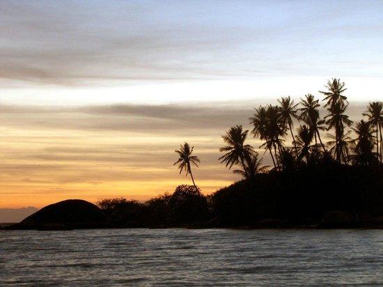 Beck's Resort:                   sunset