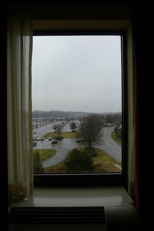 Hampton Inn & Suites Winston-Salem / University Area:                   view from room