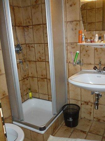 Berghotel Rasis:                   Een van de badkamers