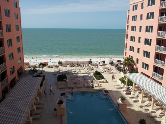 Hyatt Regency Clearwater Beach Resort & Spa:                   pool area