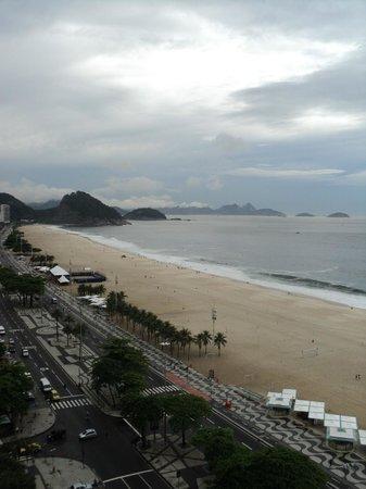 Arena Copacabana Hotel: vista desde la terraza