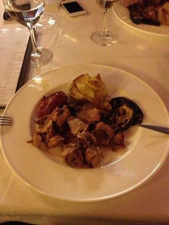El Bon Raco Bar & Restaurant:                   лопатка ягненка