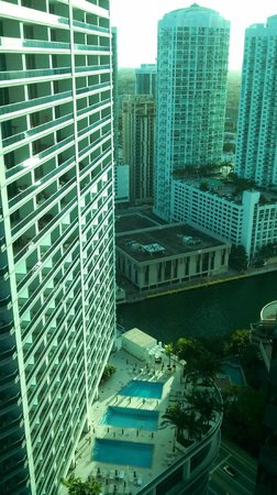 JW Marriott Marquis Miami:                   View