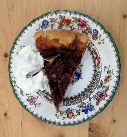 Airtime Cafe | Take-away:                                     pecan pie with cream