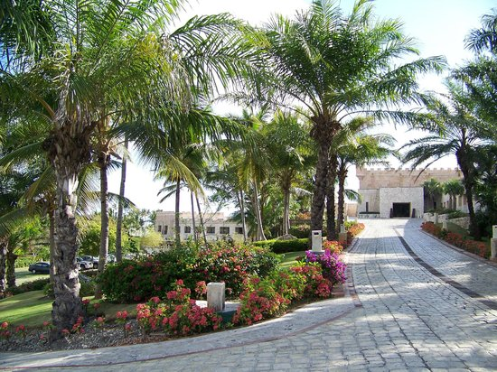 Sanctuary Cap Cana by AlSol :                   Walkway to castle rooms