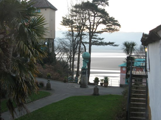 Hotel Portmeirion:                   View from the window