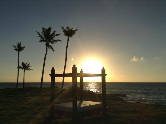 Sanctuary Cap Cana by AlSol:                   Sunrise view from our room 1034 Castle.